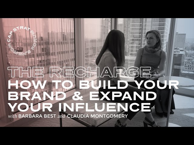 How to Build Your Brand & Expand Your Influence   the Recharge