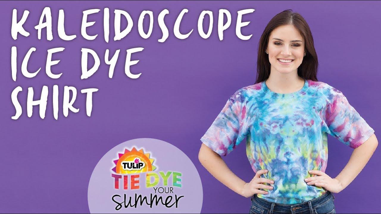 Kaleidoscope Ice Dye Technique Youtube