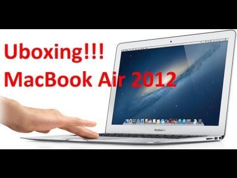 Desempaquetado y primeras impresiones de la MacBook Air 13