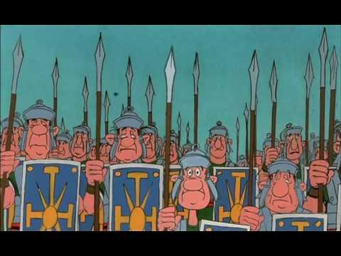 RYTP Астериск и Обелиск против викингов