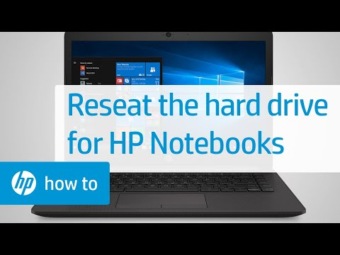 Reseating the Hard Drive in an HP Notebook | HP Notebooks | HP - YouTube