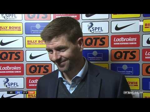 """We need to keep improving."" Steven Gerrard reviews his first season as Rangers boss"