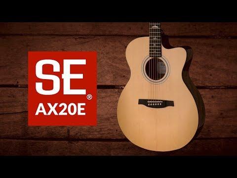 The SE AX20E | PRS Guitars