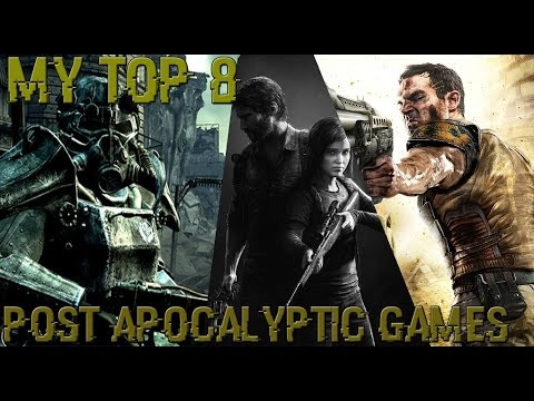 My TOP 8 Post Apocalyptic Games PS4/PS3