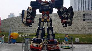 헬로카봇 펜타스톰 뽀로로 Hello Carbot Giant Robot Car Transformers PentaStorm Pororo figurines 巨大な変圧器