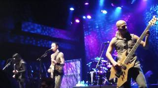 Trivium - Caustic Are the Ties That Bind - live @ Komplex 457 in Zurich 6.11.2011