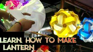 Diwali lamp | How to make Diwali lamp at home | Oldest Diwali market | DIWALI lantern