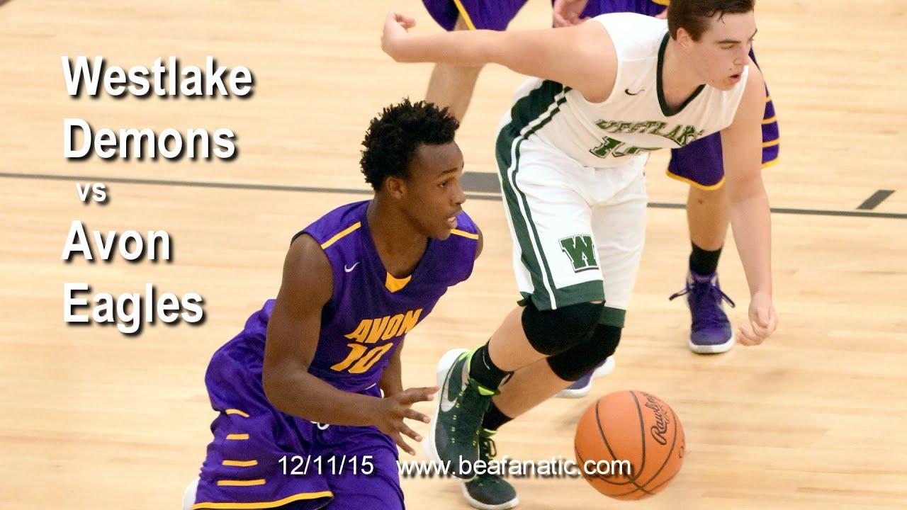 Westlake Demons vs Avon Eagles Mens Varsity Basketball ...