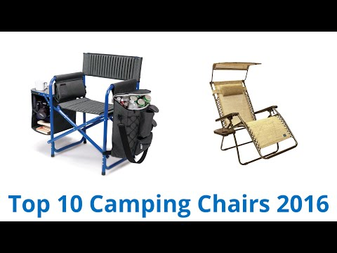 10 Best Camping Chairs 2016