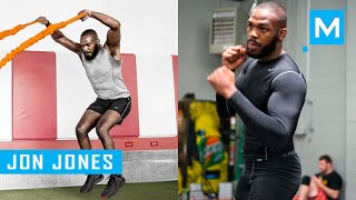 Jon Jones Strength and Conditioning Training (Part 2) | Muscle Madness