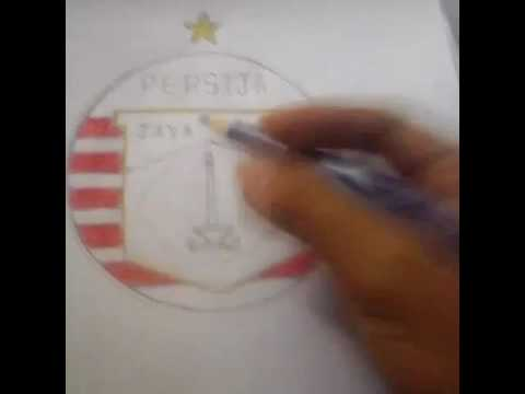 Tutorial Menggambar Logo Persija Youtube