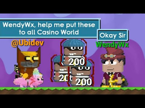 steel chair growtopia swing lift trolling casino world with henchman funny youtube