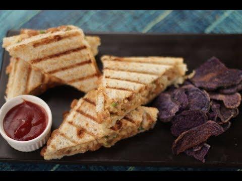 Baked Beans Sandwich | Sanjeev Kapoor Khazana