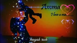 Otha sontham nee iruntha pothum Amma /WhatsApp status video/ love u Amma 😘😘