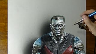 Colossus Drawing - How to draw 3D Art