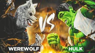Werewolf Vs Hulk!! Marvel Monster Showdown!