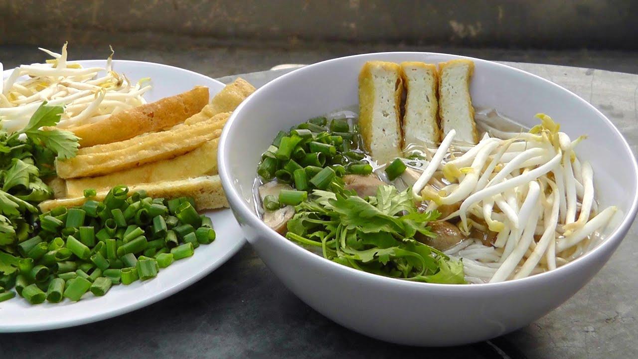 Vegan Vegetarisches Vietnamesisches Rezept Pho Nudelsuppe
