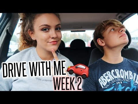 DRIVE WITH ME - Chatty Q&A With My Brother! | Week 2