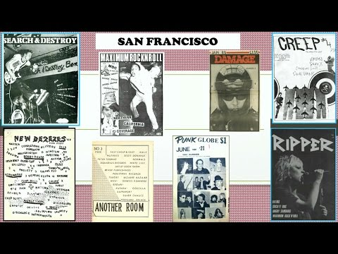 Punk Rock Zines at the San Francisco Public Library