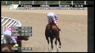 Vidéo de la course PMU PREMIO CAMPEON LIGA METROPOLITANA AMATEUR