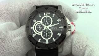 Мужские наручные fashion часы Guess W95136G1(, 2013-08-30T07:07:16.000Z)
