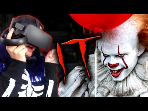 Thumbnail: I HATE CLOWNS!! | IT: Float - A Cinematic VR Experience REACTION