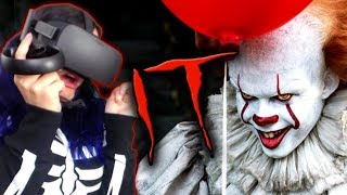 I HATE CLOWNS!! | IT: Float - A Cinematic VR Experience REACTION