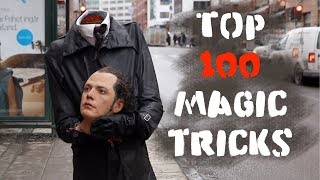 Top 100 Magic  tricks -Julien Magic
