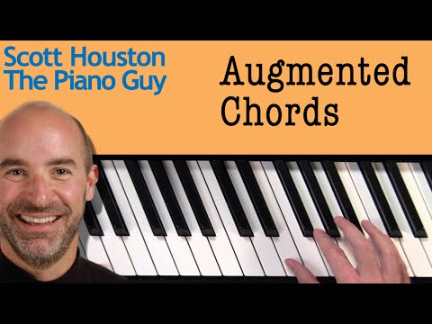 Piano Chords - Augmented Chords - How to Figure Them out on a Piano