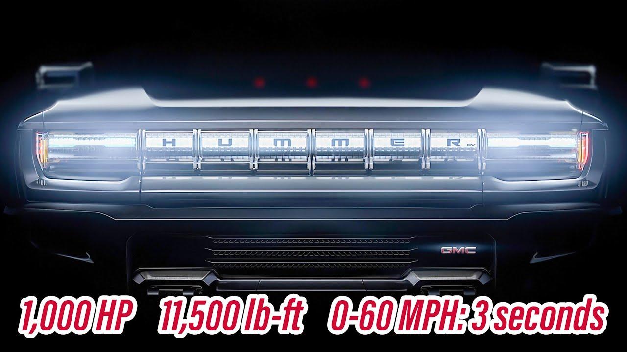 2021 GMC Hummer! HUMMER is coming back as a Monster EV ...