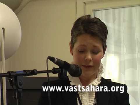 Cecilia Asklöf on Western Sahara