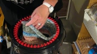 Simplest way of Casting off your Addi and Securing the ends of your knitted piece