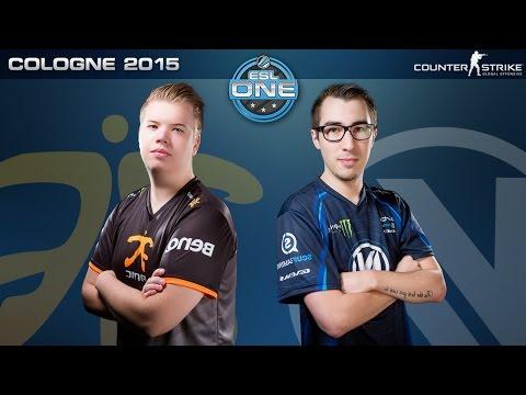 CS:GO - Fnatic vs. EnVyUS [Cbble] - ESL One Cologne 2015 - Grand Final Map 2