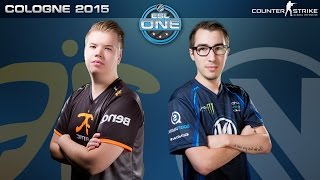 CS:GO - Fnatic vs. EnVyUS [Cbble] - ESL One Cologne 2015 - Grand Final Map 2