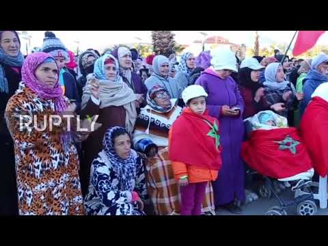Morocco: Scores flood streets protesting illegal mine deaths