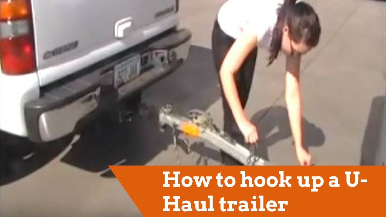 How Can I Hook My Car To The U Haul Trailer