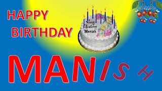 MANISH HAPPY BIRTHDAY TO YOU