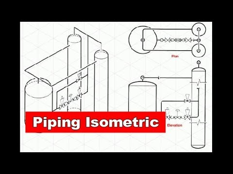 How To Read Piping Isometric Piping Analysis Youtube