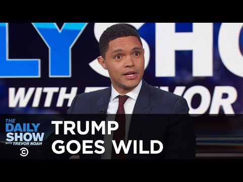 Trumps Wild Press Conference feat. George Washington - Between the Scenes | The Daily Show