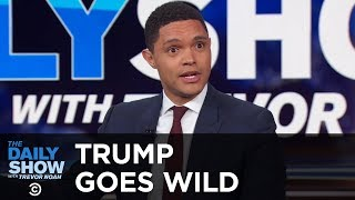 Trump's Wild Press Conference feat. George Washington - Between the Scenes | The Daily Show