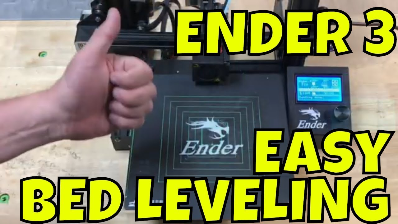 ENDER 3- Easy Way To Level Your Bed
