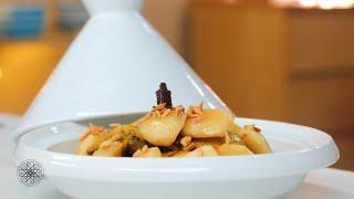 Choumicha : Tajine de poulet aux pommes caramélisées