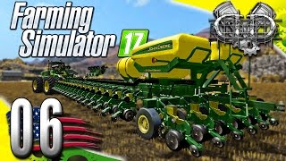 Farming Simulator 2017 Gameplay :EP6: HUGE John Deere DB 120 & Auto Loader! (PC HD American Outback)