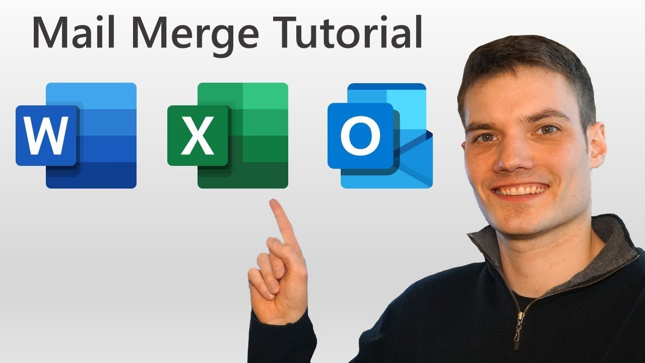 How to Mail Merge in Word, Excel & Outlook