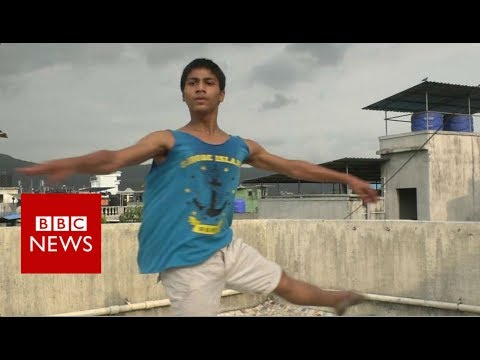 India's 'Billy Elliot' takes off - BBC News