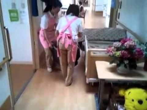 老人ホーム清掃女性が定期的に水戸市で