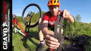 MTB Tutorial #11 (Huck Norris Review | Schlauchlos / Tubeless Reifen Montage) [ENGLISH SUB] Leo Kast