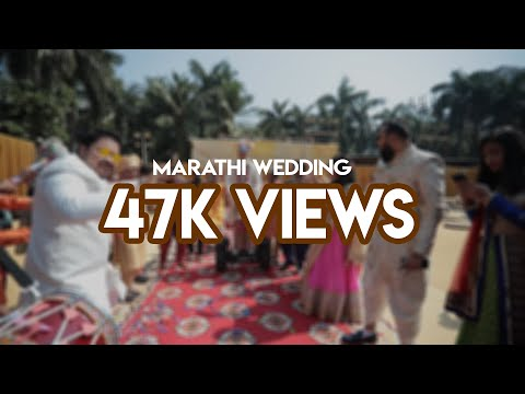 Documentary film. Marathi wedding.