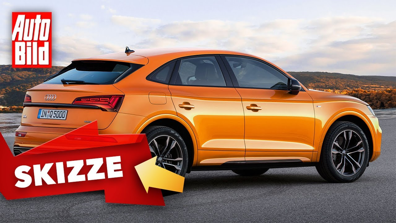 Audi Q5 Sportback (2020): Neuvorstellung - Skizze - Preis - SUV-Coupé