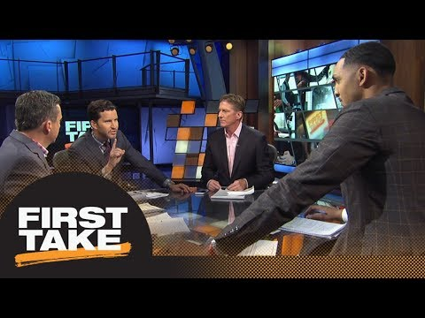 First Take reacts to Spurs tra kawhi leonard